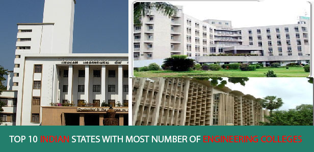 10 Indian States with Most Number of Engineering Colleges