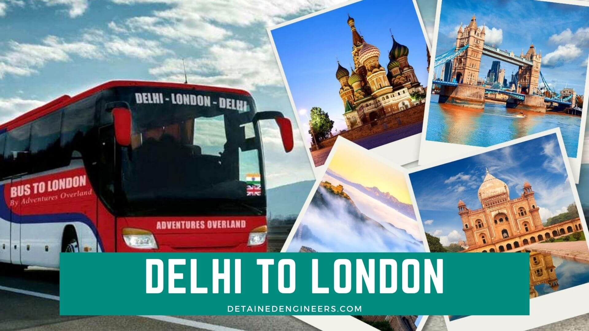 delhi to london