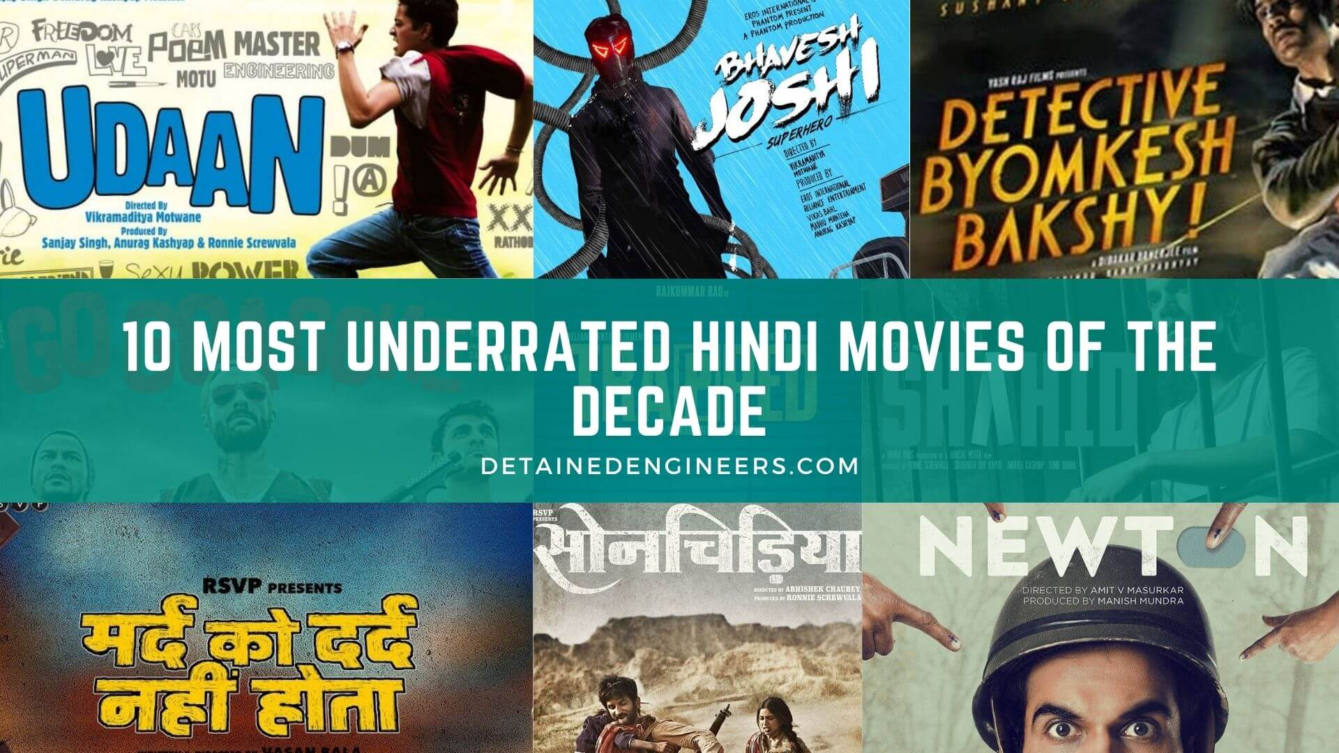 10 Most Underrated Hindi Movies of the Decade