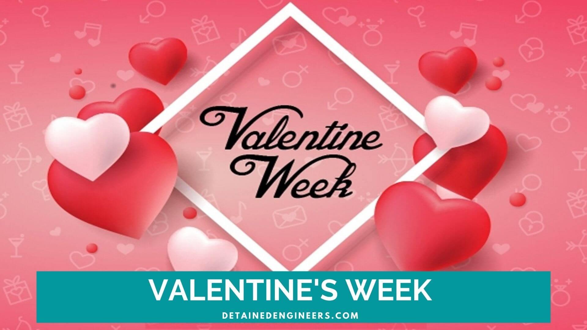 valentine's week celebrated