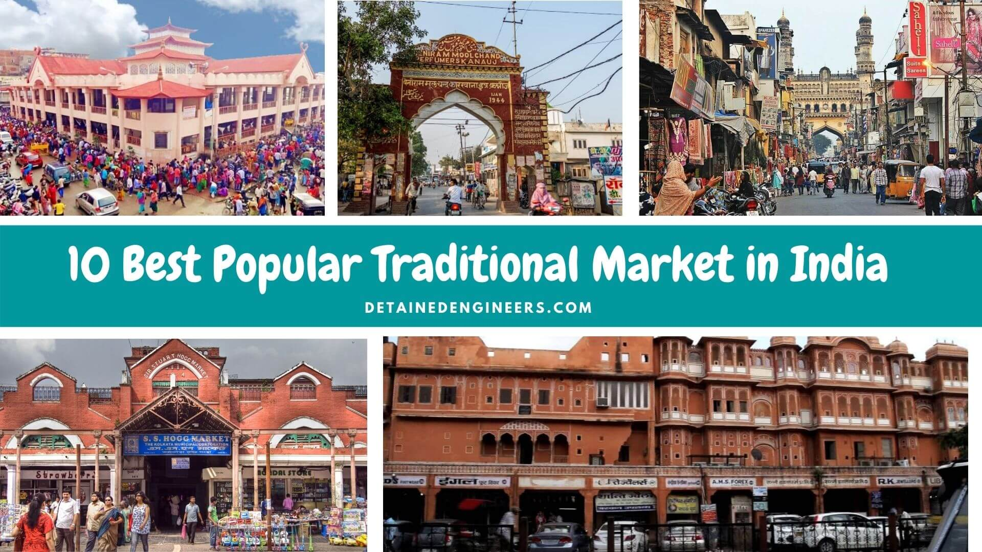10 Best Popular Traditional Market in India
