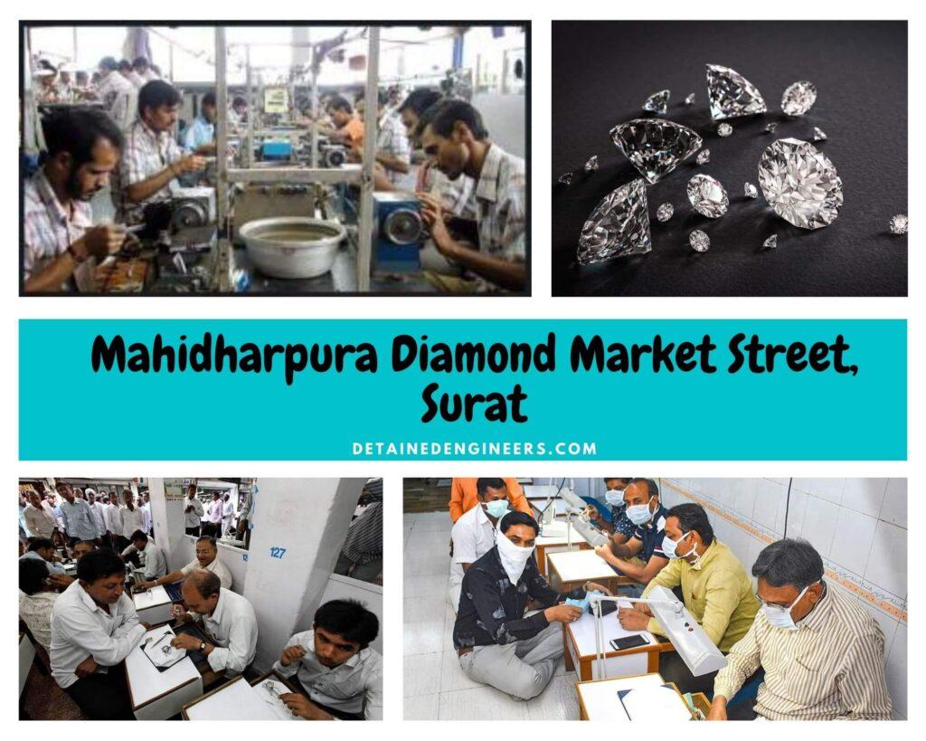 Mahidharpura Diamond Market Street Surat