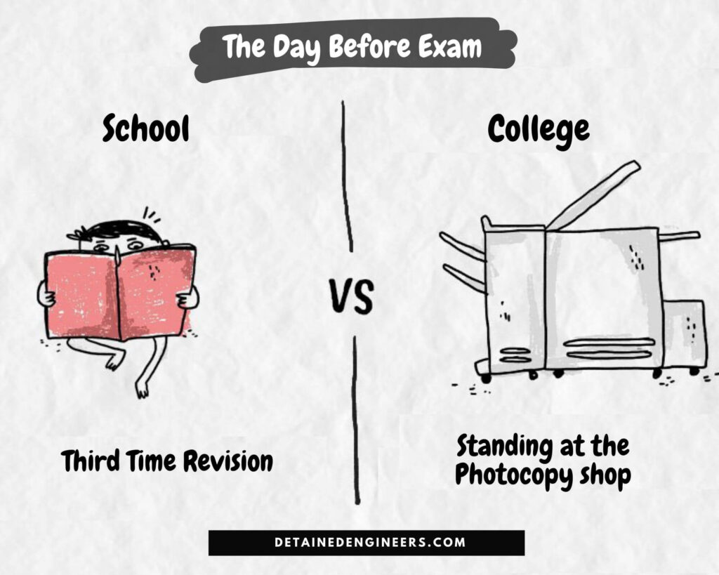 The Day Before Exam