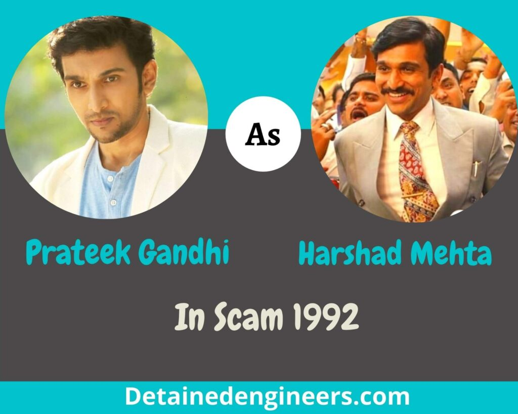 Prateek Gandhi in famous stars from OTT Platforms